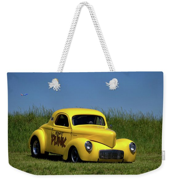 1941 Willys Coupe Weekender Tote Bag