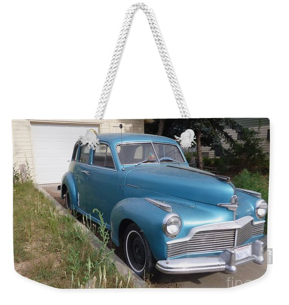 1942 Studebaker Commander Custom Crusing Sedan Weekender Tote Bag