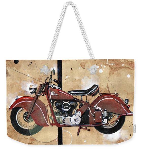 1946 Chief Weekender Tote Bag