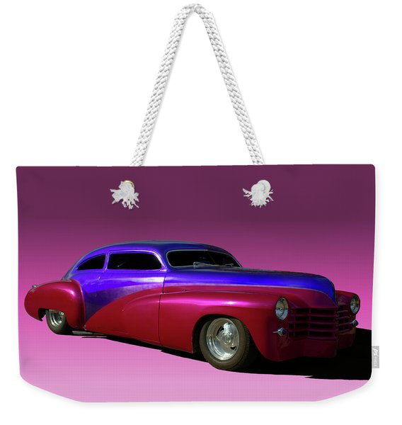 1947 Cadillac Radical Custom Weekender Tote Bag