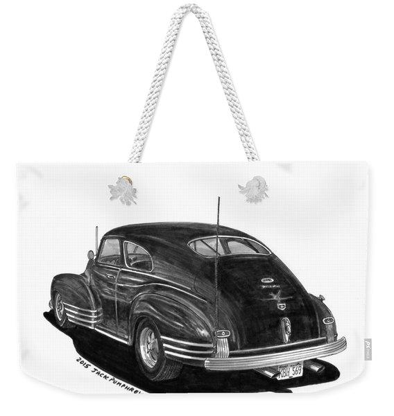 1947 Chevrolet Fleetline Weekender Tote Bag