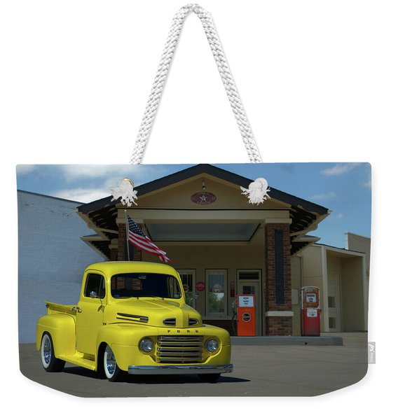 1948 Ford F1 Pickup Truck Weekender Tote Bag