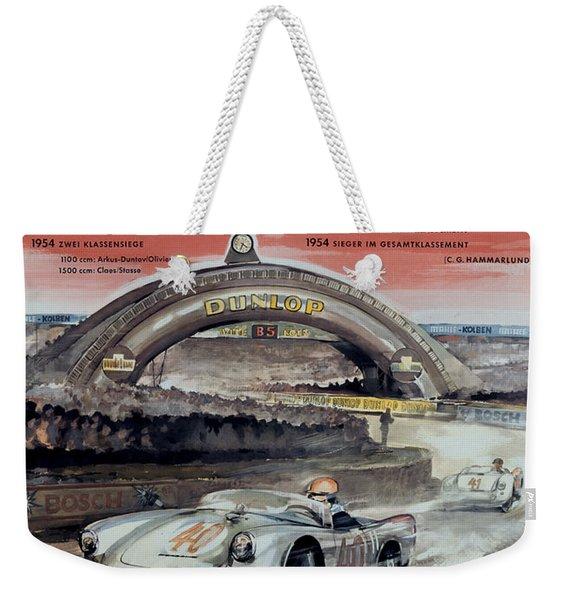 1950 Porsche Le Mans Poster Weekender Tote Bag