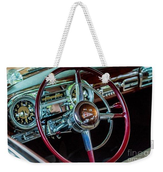 1951 Hudson Hornet Weekender Tote Bag