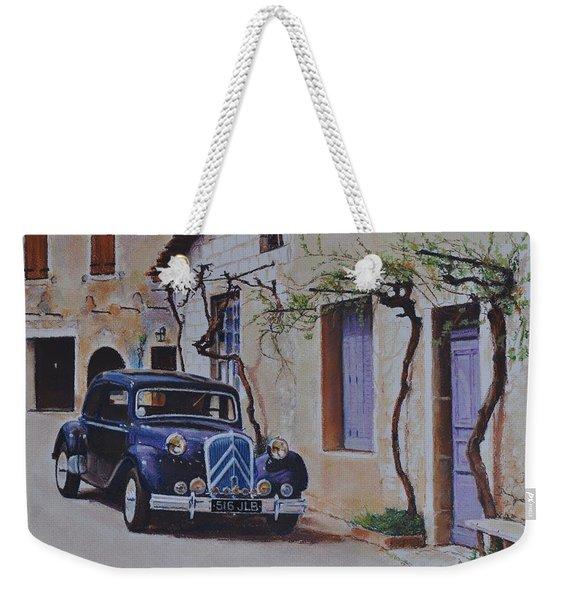 1951's Citroen Weekender Tote Bag