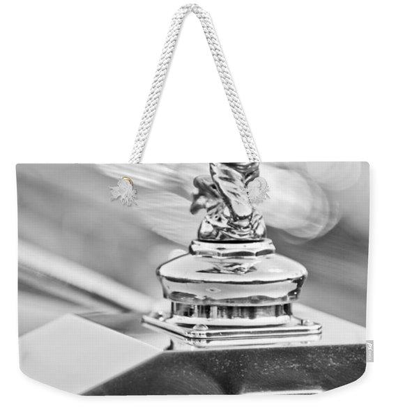1952 Rolls-royce Silver Wraith Hood Ornament 2 Weekender Tote Bag