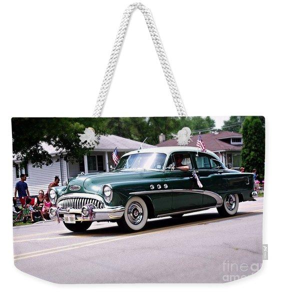 1953 Buick Special Weekender Tote Bag
