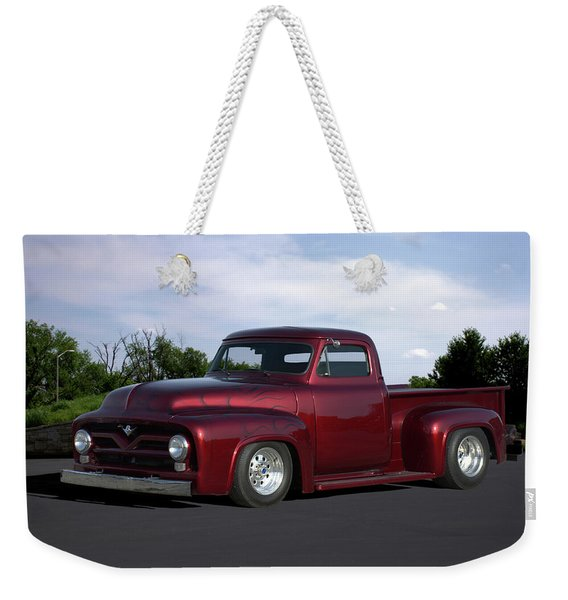 1955 Ford Pickup Weekender Tote Bag