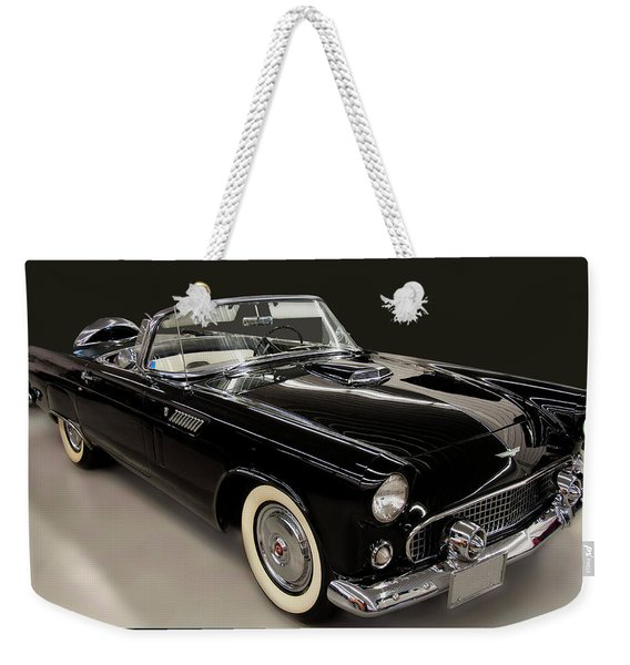 1955 Ford Thunderbird Convertible Weekender Tote Bag