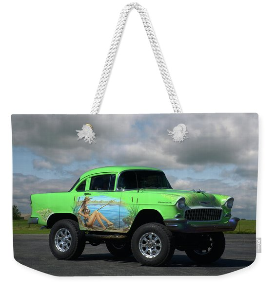 1956 Chevrolet Shorty Weekender Tote Bag