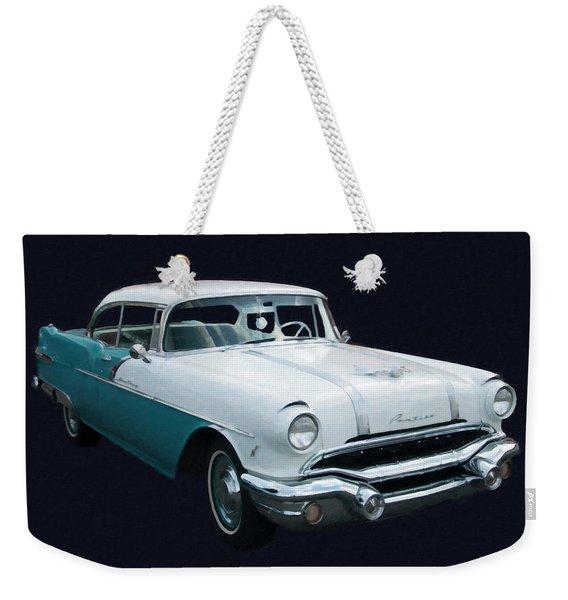 1956 Pontiac Star Chief Digital Oil Weekender Tote Bag