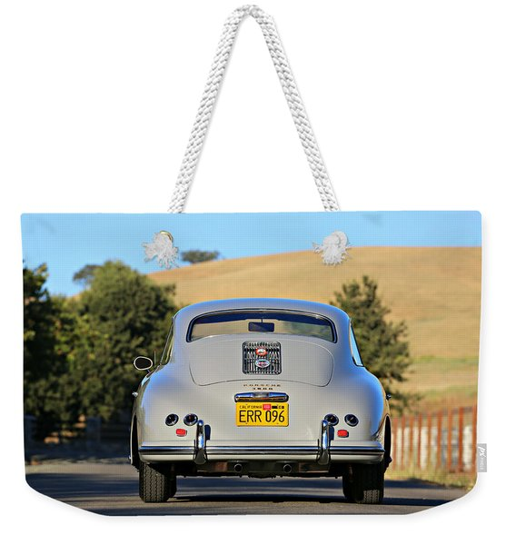 1956 Porsche 356a Rear Weekender Tote Bag