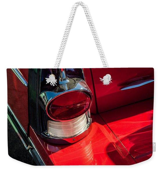 1957 Buick Tail Light -0159c Weekender Tote Bag