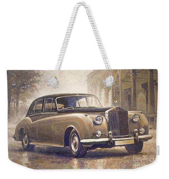 1959-62 Rolls-royce Silver Cloud II Weekender Tote Bag