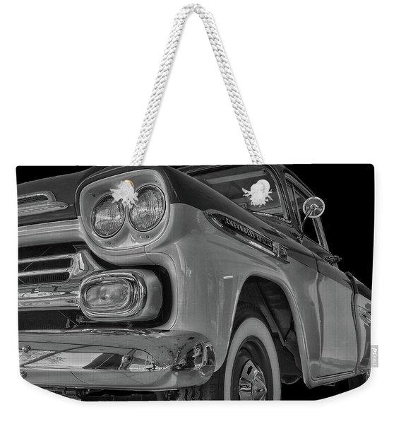 1959 Chevrolet Apache - Bw Weekender Tote Bag