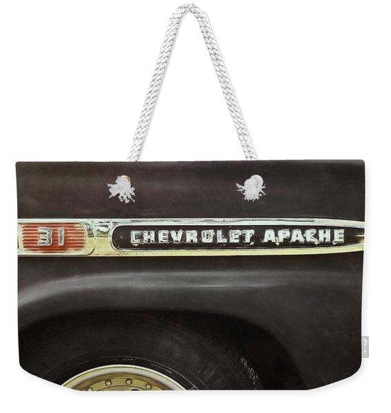 1959 Chevy Apache Weekender Tote Bag