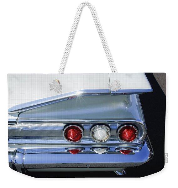 1960 Chevrolet Impala Tail Lights -175c Weekender Tote Bag
