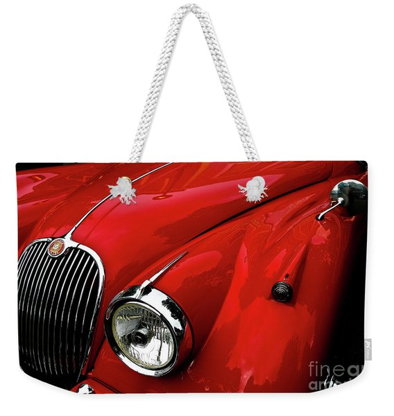 Red Jaguar Weekender Tote Bag