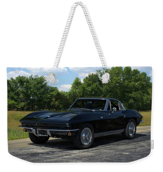 1963 Corvette Stingray Weekender Tote Bag