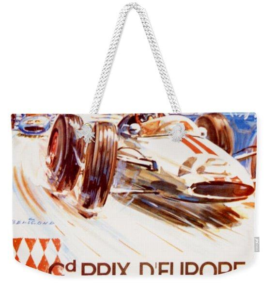 1963 F1 Monaco Grand Prix  Weekender Tote Bag
