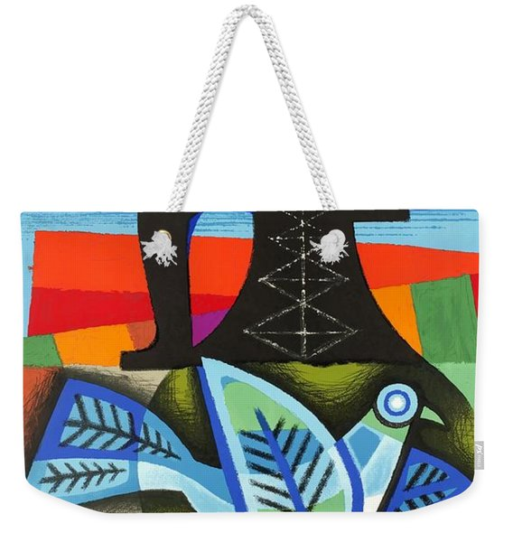 1964 Air France Chile Travel Poster Weekender Tote Bag