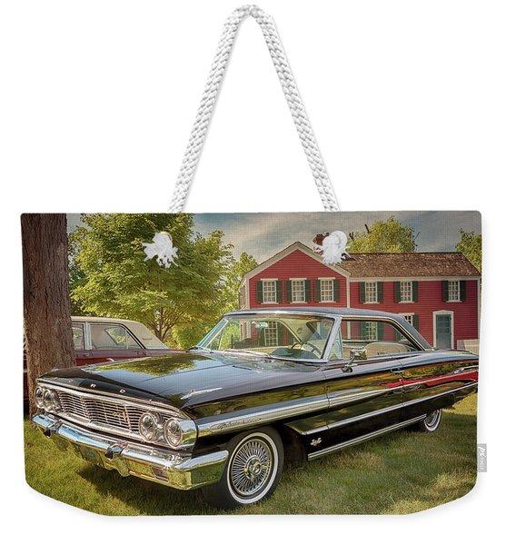 1964 Ford Galaxie 500 Xl Weekender Tote Bag