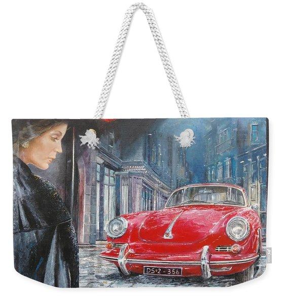 1964 Porsche 356 Coupe Weekender Tote Bag