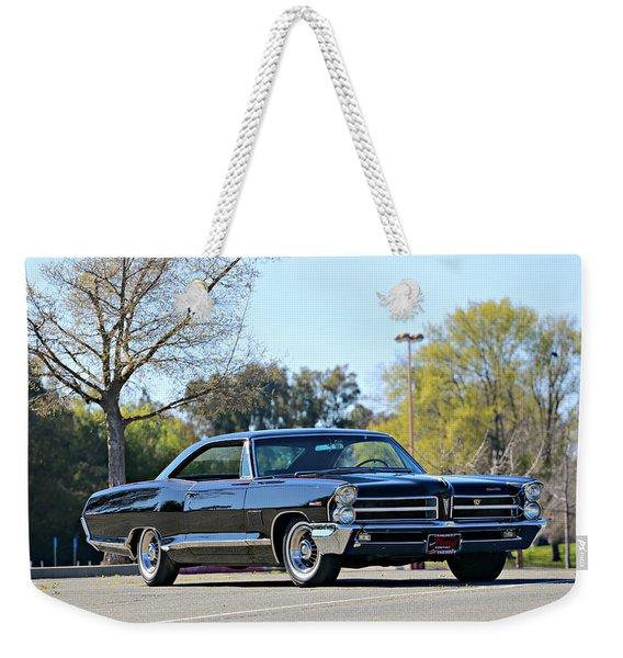 1965 Pontiac 2 Plus 2 Weekender Tote Bag