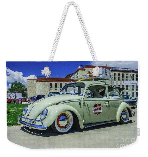 1965 Volkswagen Bug Weekender Tote Bag