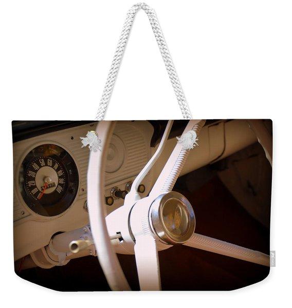 1966 Ford F100 Interior Weekender Tote Bag