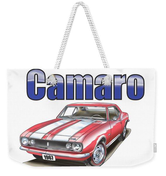 1967 Camaro Weekender Tote Bag