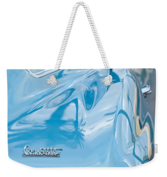Weekender Tote Bag featuring the photograph 1967 Chevrolet Corvette 11 by Jill Reger
