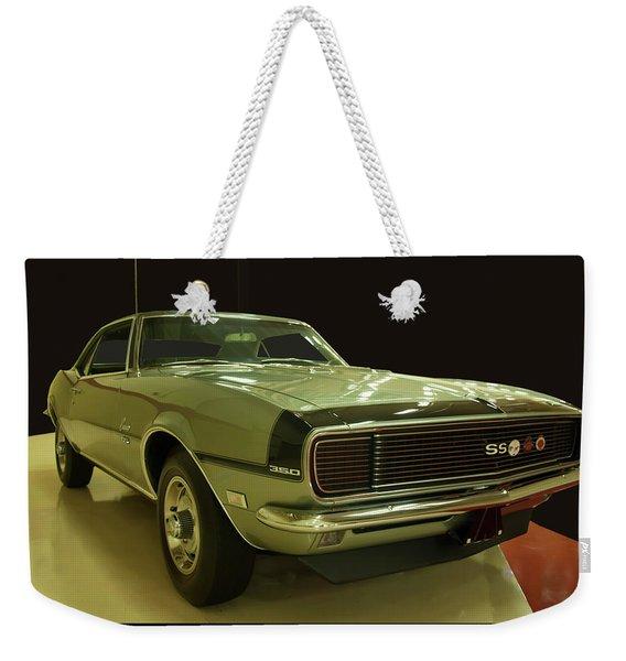 1968 Chevy Camaro Rs-ss Weekender Tote Bag
