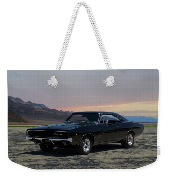 1968 Dodge Charger Rt 440 Weekender Tote Bag