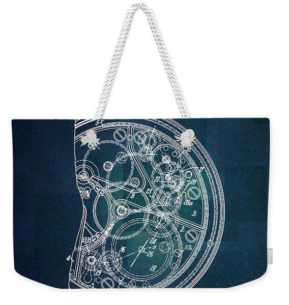 1968 Patek Philippe Patent 1 Weekender Tote Bag