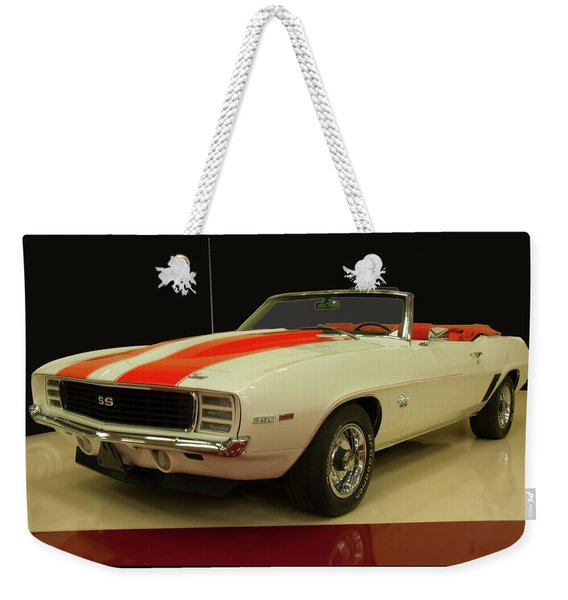 1969 Chevy Camaro Rs/ss Indy Pace Car Weekender Tote Bag
