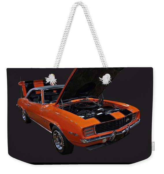 1969 Chevy Camaro Z28 Weekender Tote Bag