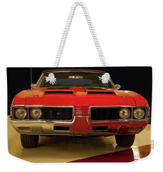 1969 Oldsmobile 442 W-30 Weekender Tote Bag