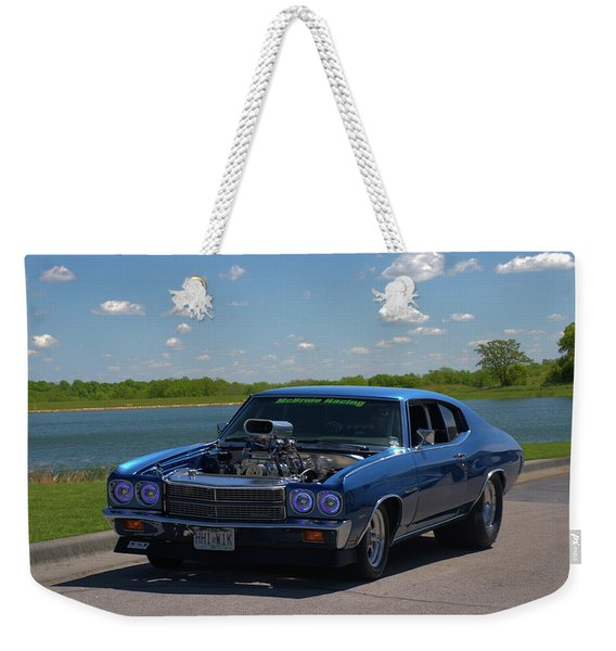 1970 Chevelle Pro Street Dragster Weekender Tote Bag