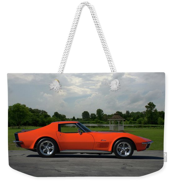 1970 Corvette Stingray Weekender Tote Bag