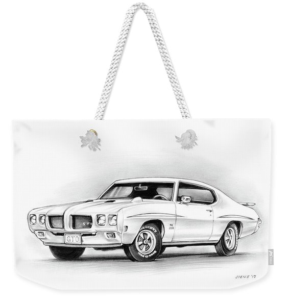 1970 Pontiac Gto Judge Weekender Tote Bag