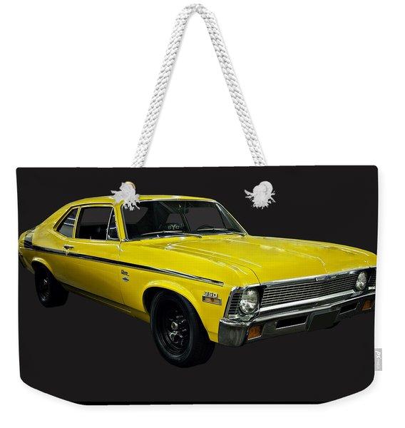 1971 Chevy Nova Yenko Deuce Weekender Tote Bag