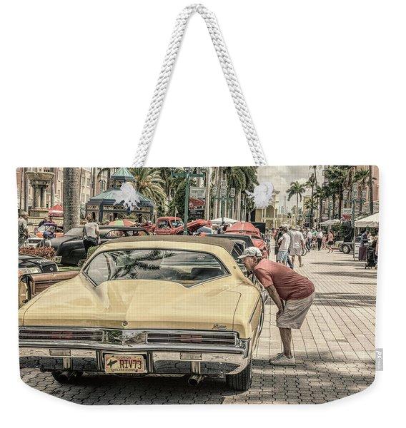 1973 Buick Riviera Weekender Tote Bag