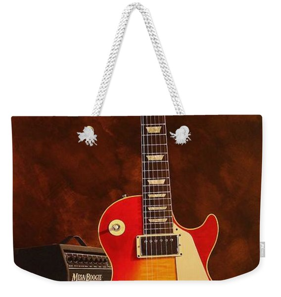 1973 Les Paul Deluxe Weekender Tote Bag