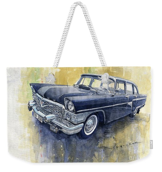 1978 Gaz Chaika M13 Weekender Tote Bag