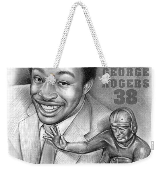 1980 Heisman Winner Weekender Tote Bag