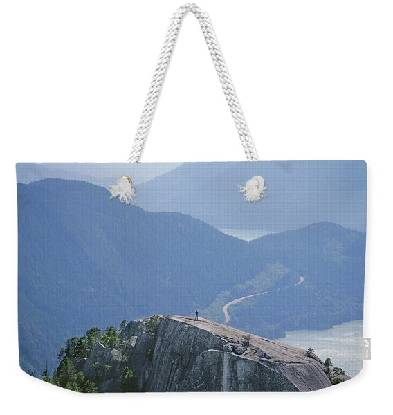 1m2918 South Summit Stawamus Chief From Second Summit Weekender Tote Bag