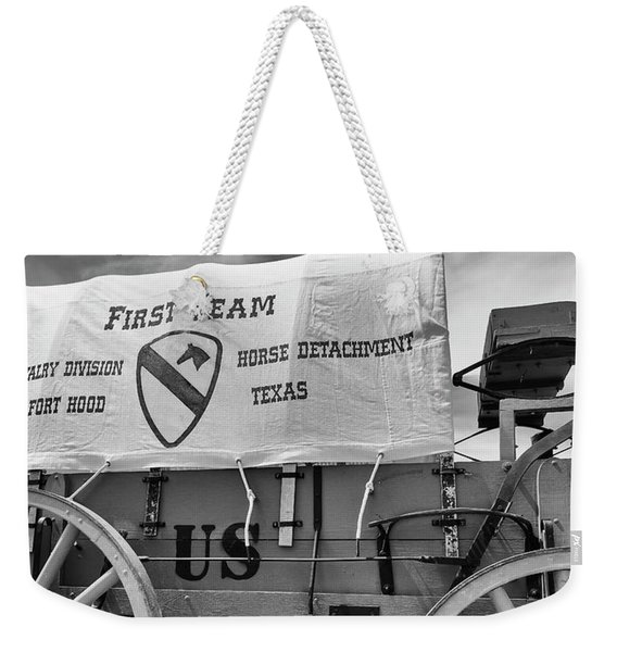 1st Cavalry Division Horse Detachment Weekender Tote Bag