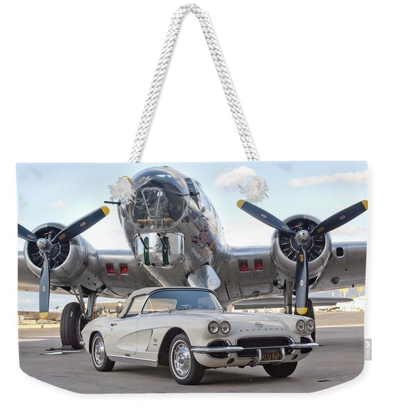 1962 Chevrolet Corvette Weekender Tote Bag
