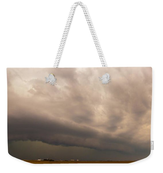 Weekender Tote Bag featuring the photograph 3rd Storm Chase Of 2015 by NebraskaSC